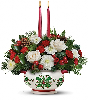 Holly Days Centerpiece