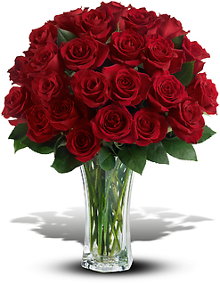 24 Long Stemmed Red Roses